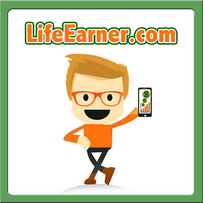 LifeEarner.com PREMIUM Affiliate Marketing/Bitcoin/Trade/Crypto Currency Domain
