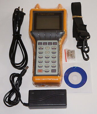 Ry-S200D Catv Cable Testing Tv Signal Level Meter Mer Ber Tester 5-870Mhz New