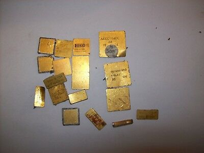 CPU Tops, For Scrap Gold Recovery