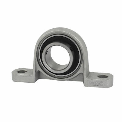 H● P006 30mm Mounted Self Align Pillow Block Bearing Solid Base Cast Housing
