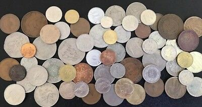 World Coins Bulk X 70 Coins Deceased Estate. (2)