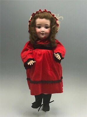 "Antique Armand Marseille 20"" Bisque 560a Character Doll c1910"