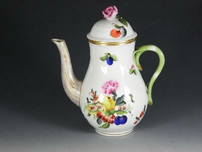 "Herend ""Fruits Necker"" Mini Coffee Pot"