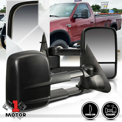 [Pair]Manual Telescoping Towing Side Mirror for 97-04 Ford F150/F250 Light Duty