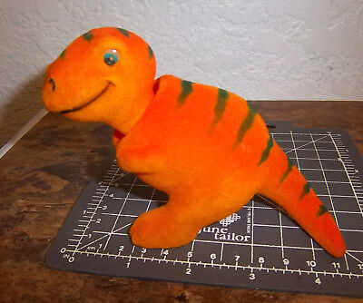 NEW fuzzy T-REX Bobble head, 4.5 inches long, very nice collectible
