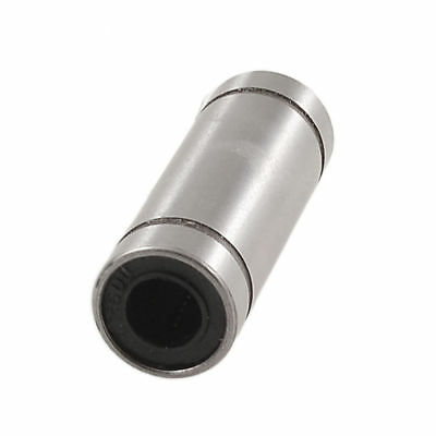 LM6LUU Cylinder Shaped Carbon Steel Linear Motion Ball Bearing 6x12x35mm