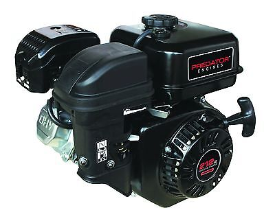 New! Predator Horizontal Shaft Go Cart Mini Bike Gas Engine  6.5 Hp 212 Cc L@@k!