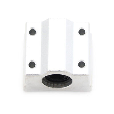 SC8UU Linear Bearing Slide Block Bracket - 8mm Shaft - 3D Printer  CNC RepRap US
