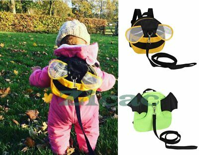 Child Toddler Safety Harnesses Cute Monster  Backpack Walking Safety Harness