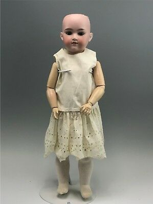 "Antique George Borgfeldt Bisque Head 23"" Doll"