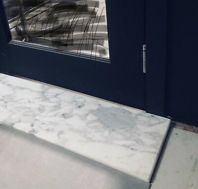 White Marble Thresholds, Hearths, Mantles, Window Sills, hall table tops,