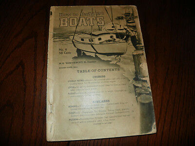 How to Build 20 Boats Book 1940