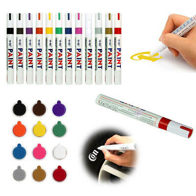 Waterproof Permanent Paint Marker Pen Universal Car Tyre Tire Tread Rubber Metal