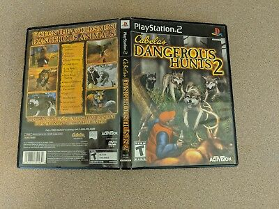 Cabela'S Dangerous Hunts 2 Playstation 2 Ps2 Ex+Nm Condition Complete!