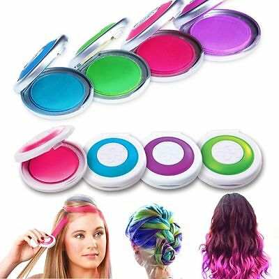 Hair Chalk Powder Fashion Christmas DIY Temporary Wash-Out  Dye hair powder Cake
