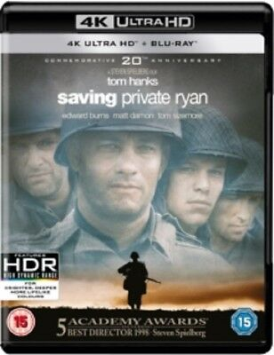 Saving Private Ryan (Tom Hanks  Edward Burns) New 4K Ultra HD Region B Blu-ray