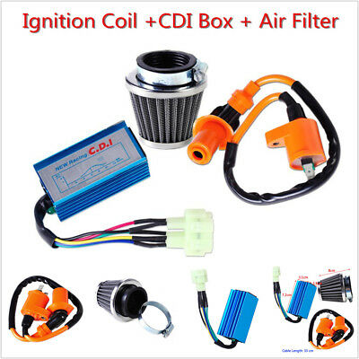 Racing Ignition Coil CDI Air Filter for GY6 50cc 125cc 150cc Scooter ATV Moped