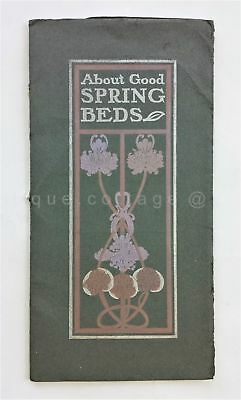 1901 antique SPRING BED CATALOG McElroy-Shannon Spring Bed Co louisville ky ad