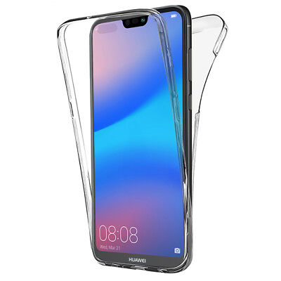 Coque Housse 360° Clear FULL TPU Gel Silicone Huawei P20 Lite/ Nova 3e 5.84""