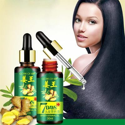 30ml Hair Growth Essence liquid Fast Hair Growth Ginger Extract Anti Hair Loss