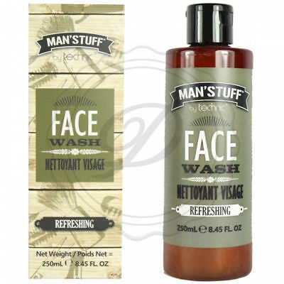 Man'Stuff Face Wash - 250ml Refreshing Men Scent Fathers Day Gift Dad Clean Body