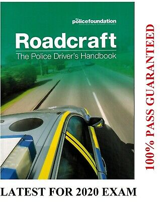 ROADCRAFT The Police Drivers Handbook Police Foundation *PlcBk