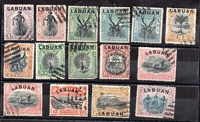 Labuan Victorian unchecked collection WS8673