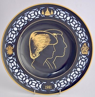 1981 B&G Limited Edition Plate - Marriage of Prince Charles to Lady Diana 26.5cm