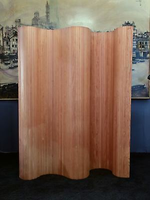 Vintage timber screen / room divider from the 1960's