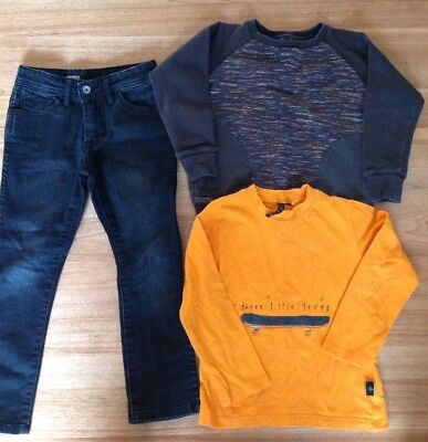 Volcom Jeans, Munster Jumper, Three Little Trees Top. Size 3. Great Condition.