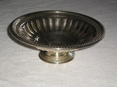 Vintage Footed Sterling Silver Bowl