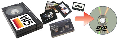 Convertire Pellicole 8mm super 8 video8 hi8 VHS MiniDV in DVD mpeg4 USB sony tdk