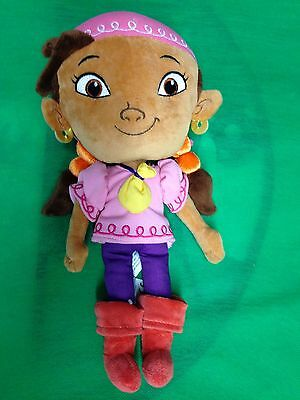 Izzy Pirate Doll from Jake and the Neverland Pirates Disney Store Stuffed Doll