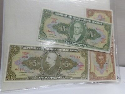 Money, Republic of Brazil.