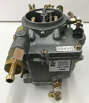 New Toy-250 Carburetor Replacement for 1986-88 Suzuki Samurai *Assembled in USA*
