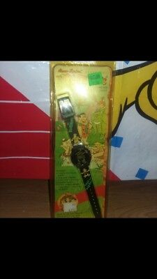 """Vintage 1991 The Flintstones """"Fred and Barney"""" Watch"""