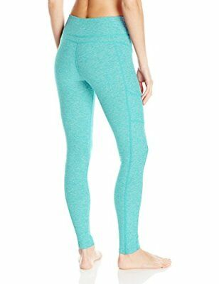 bb69f99c43d4d Womens Spacedye Long Paneled Legging Malibu Blue White Medium BESTSELLER