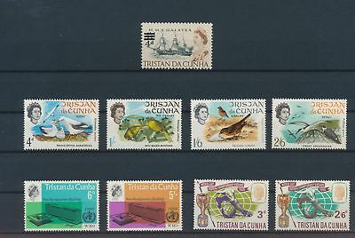 LI57122 Tristan da Cunha birds ships buildings football fine lot MNH
