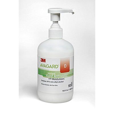 3M Avagard D Non-sticky Instant Hand Antiseptic Kills 99% Harmful Bacteria 16oz