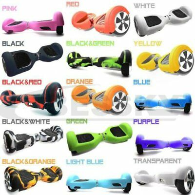 """Silicone Case Skin 6.5"""" Cover 2 Wheels Smart Self Balancing Scooter Hover Board"""