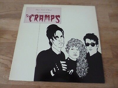 The Cramps What´s inside a Ghoul Limited green Vinyl Sammlung