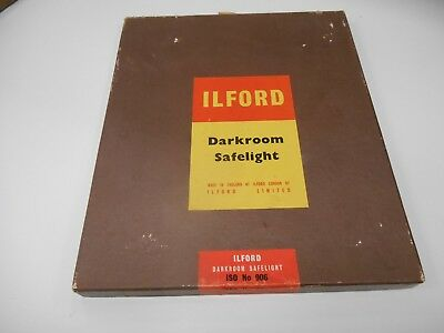 Safelight ISO906 Ilford Darkroom Safe Light 12 x 10 Orthochromatic Materials Red