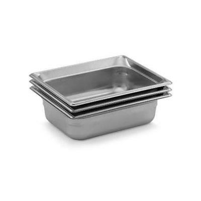 "Vollrath - 90212 - Super Pan 3 Half Size 1 1/2"" Deep S/S Steam Table Pan"