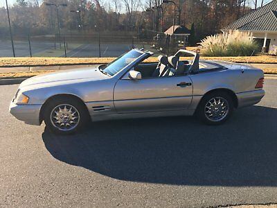 1998 Mercedes-Benz SL-Class Convertible 1998 Mercedes SL500 Convertible- NO RESERVE!!