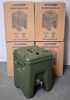 British Army - Military - Avatherm 23LT Water Box Hot Cold Drink Transportation