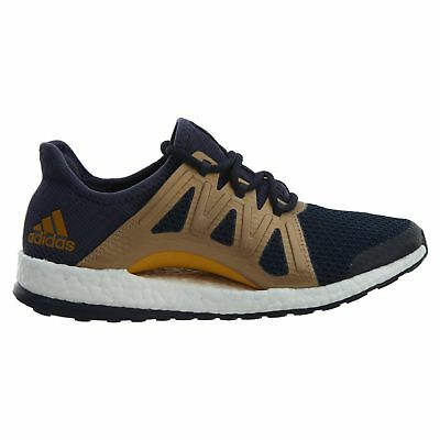 4a1bcc1c51a70 Adidas Pure Boost Xpose Womens BA8269 Trace Blue Gold Running Shoes Size 10