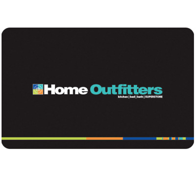 Buy $50 Home Outfitters Gift Card for only $45 - Email Delivery