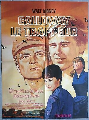 Affiche CALLOWAY LE TRAPPEUR Those calloways BRIAN KEITH Vera Miles 60x80cm *