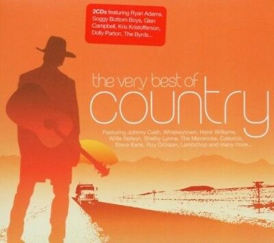Best Of Country,very - Hank Williams, The Byrds, Roy Orbinson - 2 Cd New+