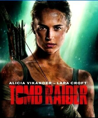Tomb Raider (DVD,2018) NEW*Action, Adventure*
